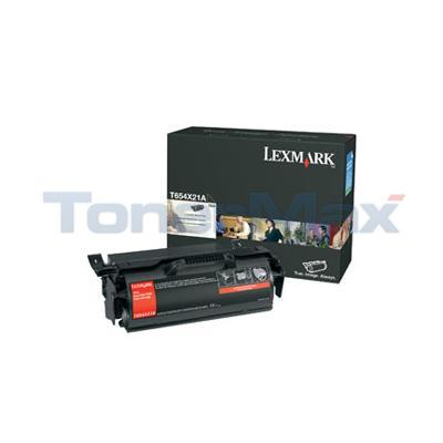 LEXMARK T654N PRINT CARTRIDGE BLACK 36K